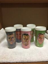 Vintage Group Of Five 1965 Montreal Canadiens Plastic Cups