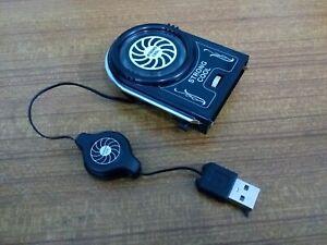 Mini Vacuum USB Case Cooler Cooling Fan FYD-738 for Notebook Laptop - UK Stock