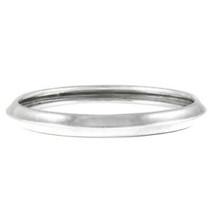 Indian HANDMADE Jewelry 925 Solid Sterling Silver Cuff Bangle Q2