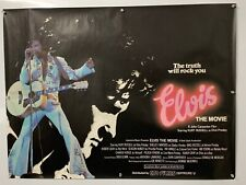 ELVIS THE MOVIE Kurt Russell/John Carpenter ORIGINAL BRITISH QUAD CINEMA poster