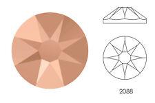 10x Swarovski® Crystals Flatback crystal rose gold 2088 NoHF SS34 7mm Xirius