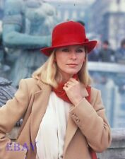Cheryl Ladd Romance On The Orient Express Vintage 4  X  5  TRANSPARENCY