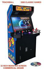 4 Player Standup Arcade Machine🔥3500 Classic Games ✅ 32 inch Screen Upright