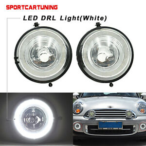 LED DRL Daytime Running Lights Fog Lamp For Mini Cooper R55 R56 R57 R58 R59 R60