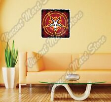 Sigil Lucifer Satan Devil Demon Evil Hell Wall Sticker Room Interior Decor 22""
