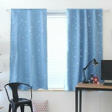 1.3m Star Blackout Curtain Living Room Window Blind Shading Screen Drapes Panels