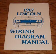 1967 Lincoln Wiring Diagram Manual 67