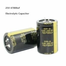25v 47000uf 35x50mm Aluminum Electrolytic Capacitor High Frequency Low Impedance