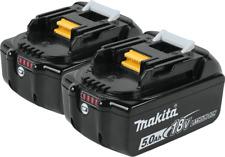 Makita BL1850B-2 18V LXT  Lithium‑Ion 5.0Ah Battery, 2/pk