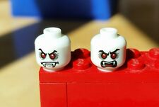 1x LEGO Lord Vampyre's Bride Dual Sided Glow in the Dark Opaque White Head