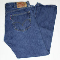 VTG 90s Levis 501 XX Denim Jeans 38 x 30 Button Fly Medium Blue Fades