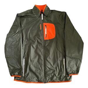 Reebok Mens Jacket Fleece Casual Rain Z93370 Zipped Sports Jumper Coat Size XL