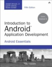 Developer's Library: Introduction to Android Application Development :...