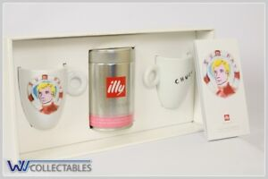 illy Art Collection 2 Signed and Numbered Decorated Mugs Julian Schnabel