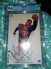 Superman 1 CGC 9.6 Variant Cover