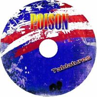 POISON GUITAR BACKING TRACKS CD BEST GREATEST HITS MUSIC PLAY ALONG ROCK MP3