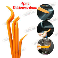 4PCS Car Door Trim Panel Dash Stereo Radio Installer Removal Pry Tools Plastic