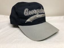 Vintage Georgetown Hoyas Snapback Hat Starter Team Script The Classic Excellent