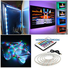 5050 LED Strip USB Powered 0.5M/1M/2M TV Tap Light Background Liting 5V + Remote