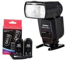 Flash Speedlite YN-560III + RF-603 C1 Wireless trigger For Canon 700D 550D 1100D