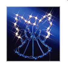 Christmas Advent Easter Indoor Outdoor Angel Silhouette Decoration 41 Lights