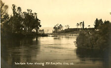 NEW ZEALAND  : Waikato River showing Mt Ruapehu -RP-DUNCAN
