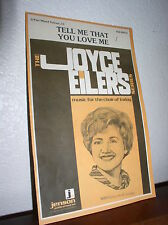 Choral Music:Tell Me That You Love Me -Joyce Eilers -3 part Mixed Voices(Jenson