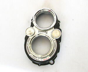 Yashica 635 TLR Camera's Bay I Mounts W/Shutter & Aperture Dials-Genuine Parts
