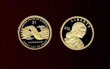 2010 S Native American Sacagawea Golden $1 Dollar Gem Proof Deep Cameo Roll (20)