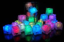 24 Pack LiteCubes Brand MultiMode Rainbow LED Light up Ice Cubes