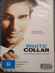 White Collar : Season 2 (DVD, 2012, 4-Disc Set) BRAND NEW AND SEALED- FREE POST