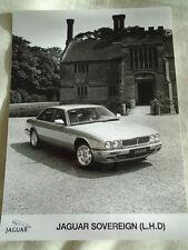 Jaguar Sovereign LHD press photo brochure c1997