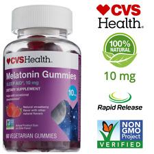 CVS Health Great Tasting Melatonin Gummy Sleep Aid Strawberry 10 mg Vegetarian