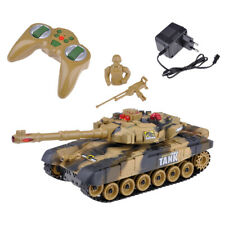 Deluxe 2.4Ghz Radio Remote Rc Control Infrared-M1A2 Battle Tank