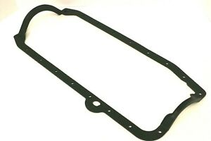 SBC 1 Piece Steel Core Rubber Oil Pan Gasket Fits 1980 - 1985 SB Chevy 305 350