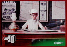 JOE 90 - SHERIFF - Card #21 - GERRY ANDERSON COLLECTION - Unstoppable Cards 2017