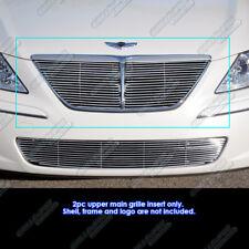 Fits 09-11 2011 Hyundai Genesis Main Upper Billet Grille Insert