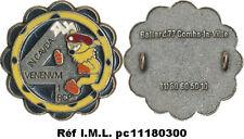 1° R.C.Parachutiste,4° Compagnie, argenté mat, marsupilami jaune, Ballard (3831)