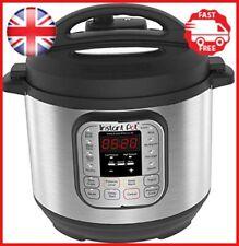 Instant Pot Duo V2 7-in-1 Electric Pressure Cooker, 6 Qt, 5.5L 1000 W, Brushed