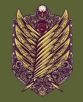 "Attack On Titan ""Titan Victoriana"" Eran Jaeger TeeFury Men's Large T-shirt"
