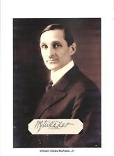 William Gibbs McAdoo Secretary Treasury Senator California  Progressive movement