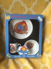 Paddington Bear Reutter Porcelain Child Bowl Plate Cup Tea New 2003