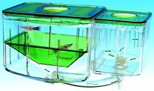 Fish Aquarium with Breathing Water Tanks Aqua Circulating Hatchery and Nursery