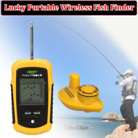 FFW1108-1 Echo Sonar Sounder Fishing Finder Alarm Fish Identifier Detector