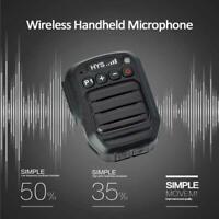 2Pin Wireless Bluetooth Handheld Speaker Mic for Motorola Walkie Talkie & Phone