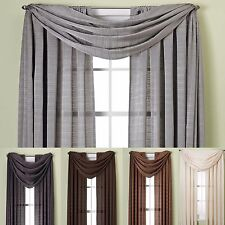 "Luxury Elegance Jacquard Zenith Window Curtain Rod Pocket Panel 63"" & 84"" Long"