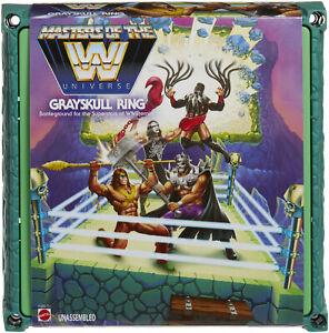 WWE Masters Of The Universe Grayskull Wrestling Ring