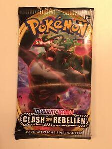 Pokemon!! Clash der Rebellen Booster Booster! NEU&OVP! Deutsch!