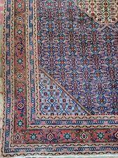6.10 x 10 Antique Fine Caucasian Serapi Antique Heriz Oushak Kazak Shirvan