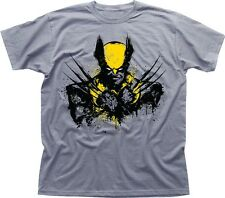 WOLVERINE X-Men Mutant Hugh Jackman heather printed t-shirt TC9635